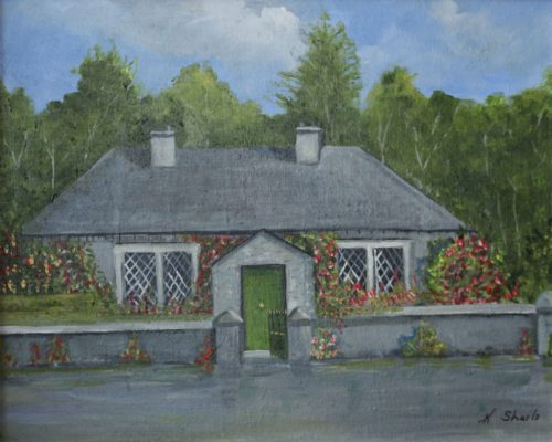 Painting of an Irish Cottage for sale