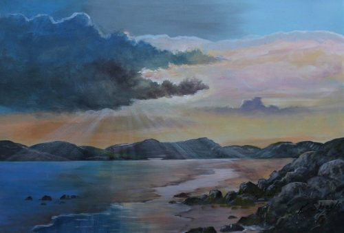 Kincalagh County Donegal-Original Landscape Painting-