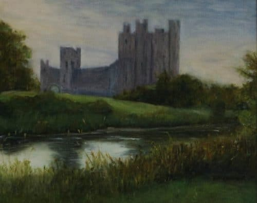 Trim Castle County Meath-Landscape Painting