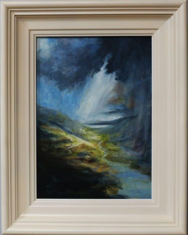 Painting Wicklow Mountains