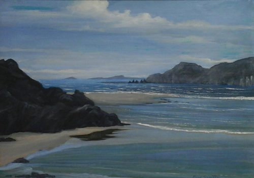 Five Finger's Strand from Isle of Doagh