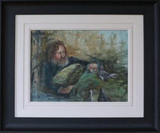 A Story to Tell- Figurative Oil Painting