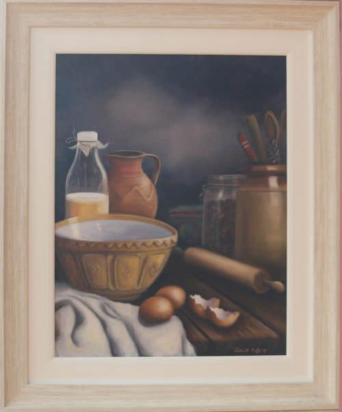 Baking Day - Still Life oil Painting