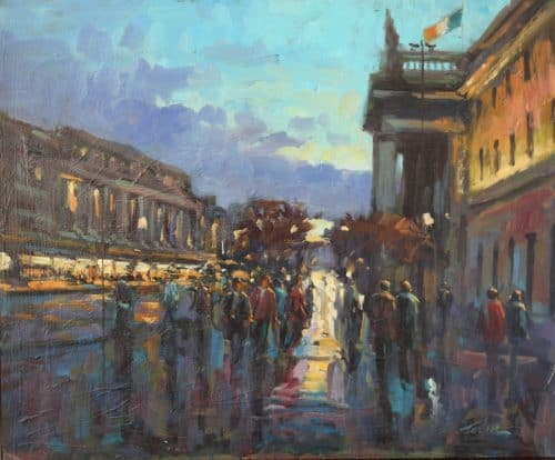 Early Evening O'Connell Street-