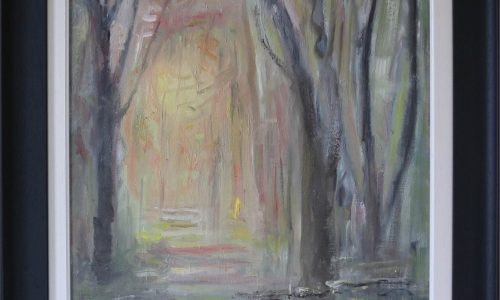 Mystic Forest - Landscape Impressionist Painting