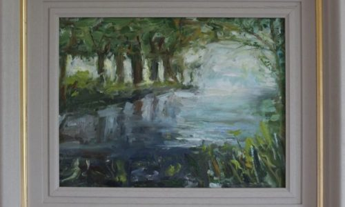 River Boyne- Irish Landscape Painting