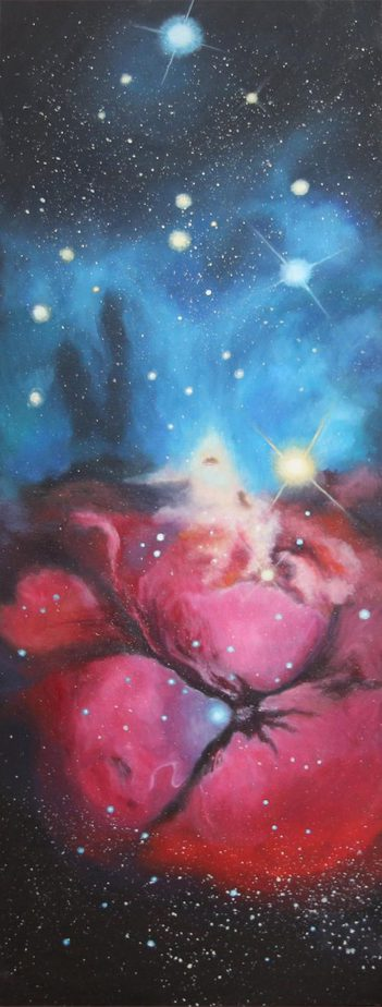Triffid Nebula Contemporary Abstract Painting