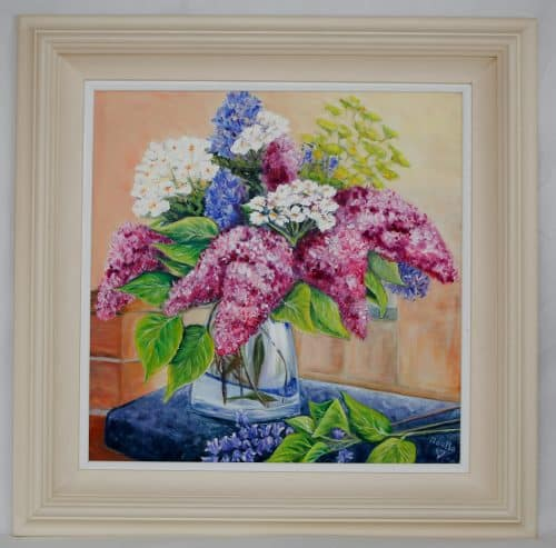 Lilacs and Bluebells