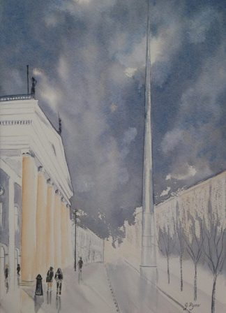 The Gpo, Dublin and The Spire