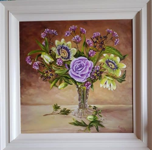 Still Life Painting of Flowers for sale