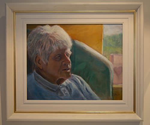 portrait of Anne at Age 92 on Mother's Day