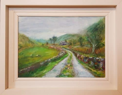Painting of the Black Valley Kerry