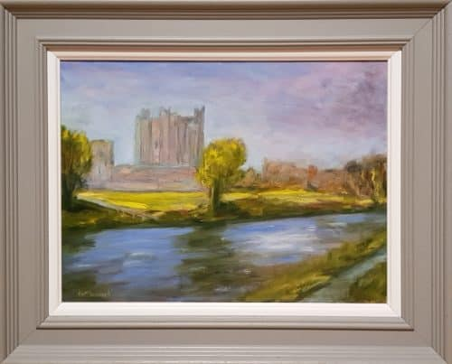 Painting of Trim Castle