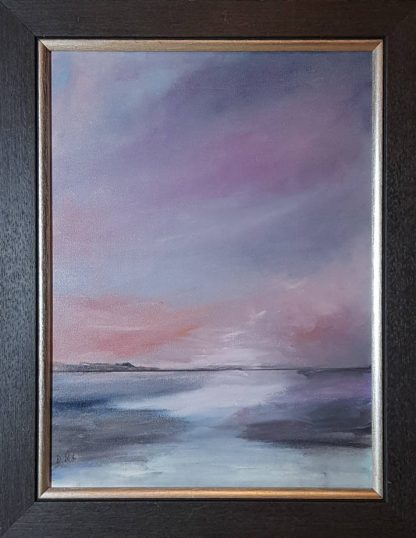 Tranquility Contemporary Seascape painting for sale