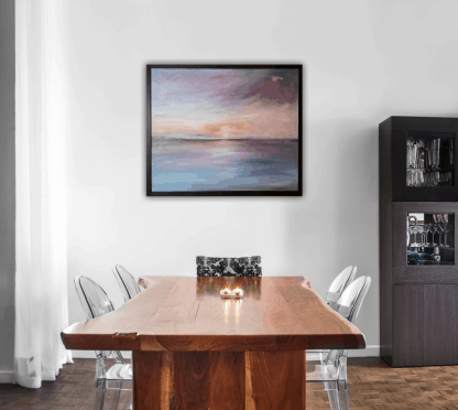 Serenity in the sea is a Contemporary Seascape painting for sale