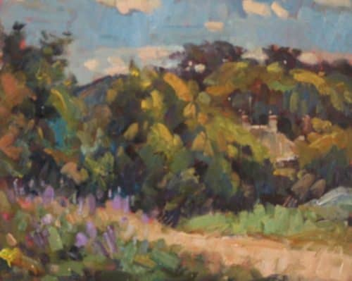 Hill of Howth Landscape Painting