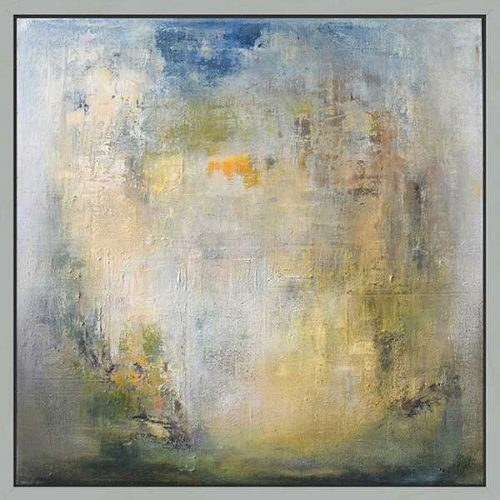 September Haze Contemporary Abstract Art  for sale