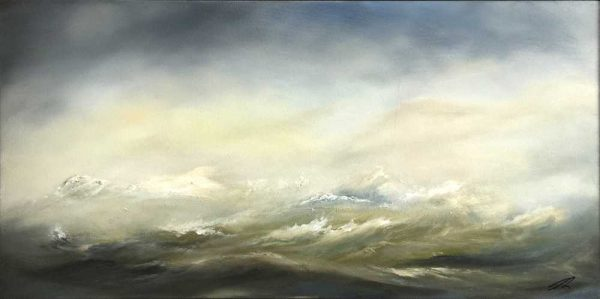 Seascape painting for sale Wild Sea