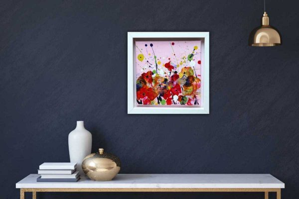 Summer Joy An original contemporary floral painting