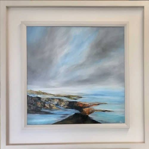Low Tide  Seascape painting by Irish artist Valerie Dennigan