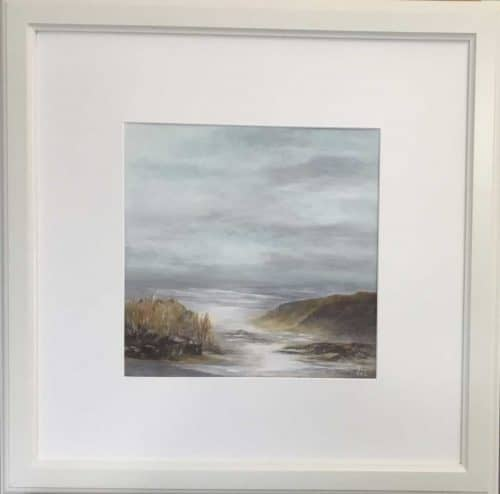 Seascape painting by Irish artist Valerie Dennigan