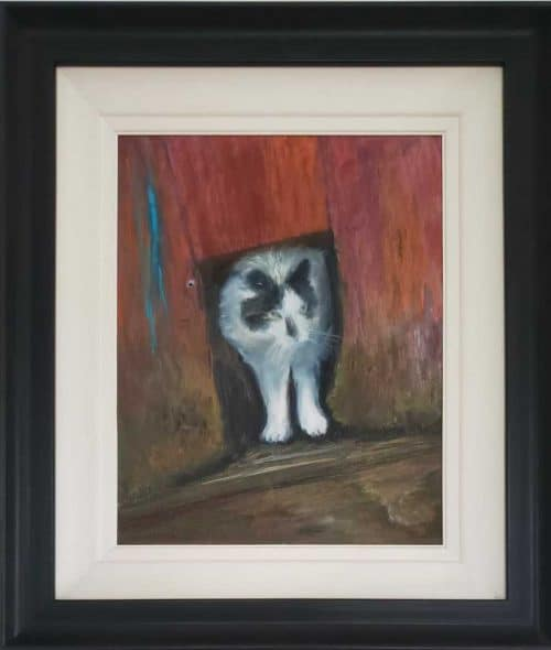 Pumpkin the Cat  Animal ( Cat) painting by artist Angela Larkin