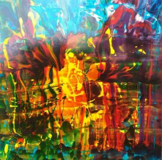 Heavens Above ( Large Painting ) Contemporary Abstract painting by artist Kevin Sharkey