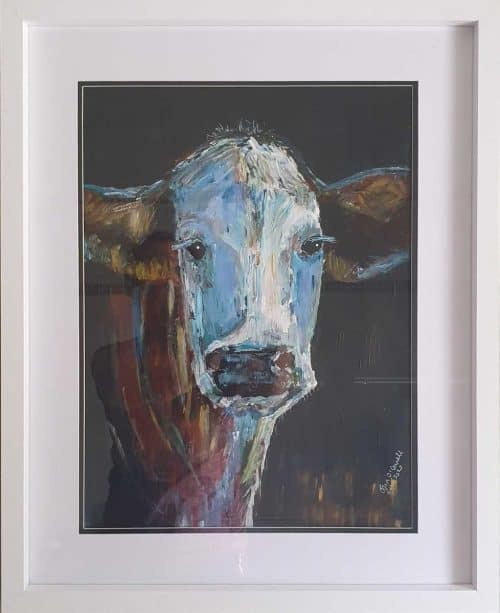 Sadie Painting of Cow