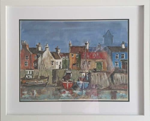 Painting of Dingle Harbour in County Kerry
