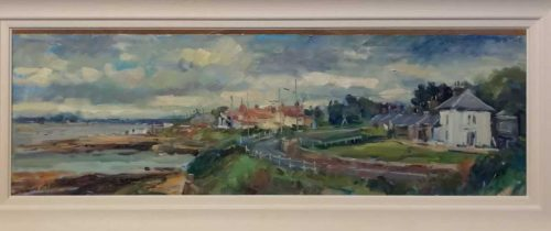Howth Landscape Painting by artist Norman Teeling