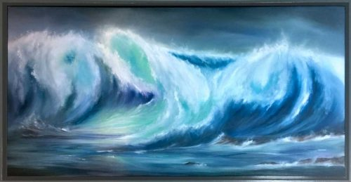 Wild Waves Seascape Painting