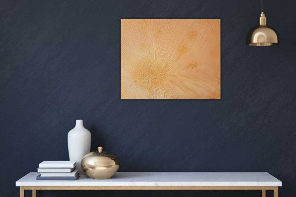 SHINING GOLD Abstract painting