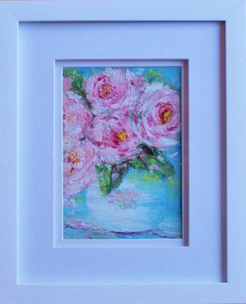 painting called The Rose Vase
