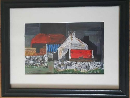 painting of sheds in clare