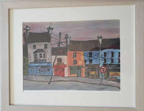 painting of Ennistymon Co.Clare