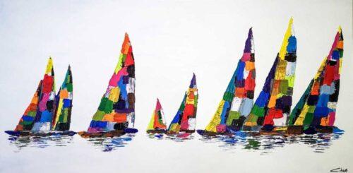 Sail Away (Large Painting)