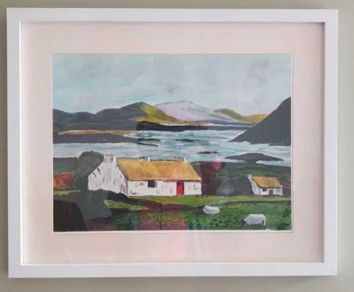 painting of Mayo Landscape