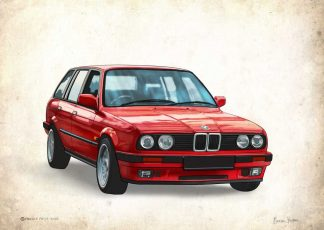 BMW Touring Car Print