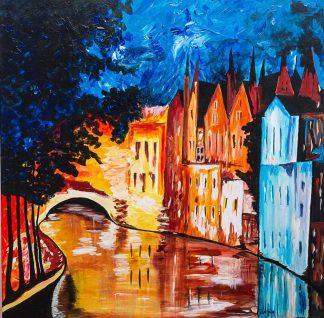 painting of The Grand Canal