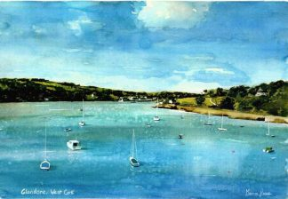 Sailboats in West Cork Print