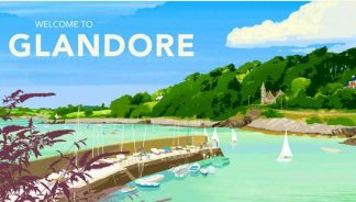 Glandore Travel Poster