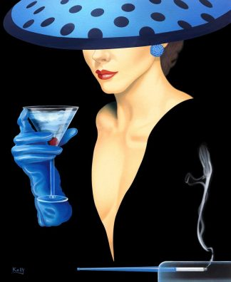 Spotted Hat Lady 2