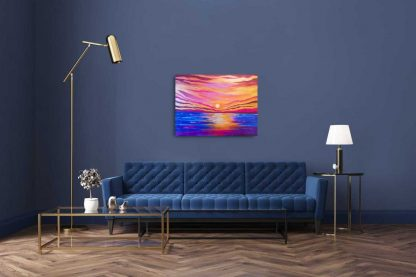 A New Dawn sunrise painting. Online Gallery art4you.ie