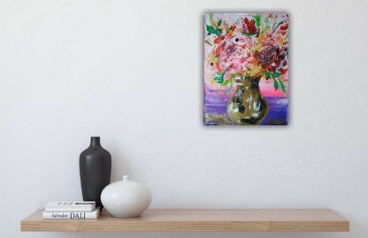 Vase with Roses 🌹 online gallery, floral art, art4you.ie