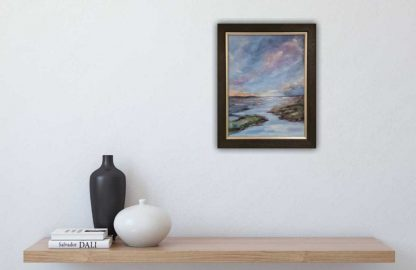 Light on the Horizon abstract seascape painting by Irish artist, online gallery art4you.ie