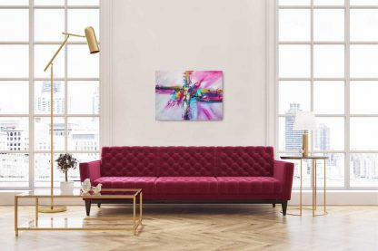 First love abstract art, painting for sale, online gallery