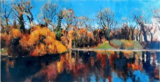 Landscape painting of Stephens Green