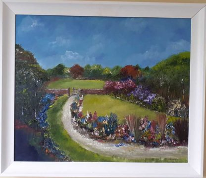 Original landscape painting for sale in online gallery by Irish artist Lynda Deverell. Art for your home, gift ideas