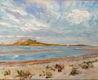 Original seascape painting of Howth Co.Dublin by Irish artist John Maguire. Browse a large selection of art for sale here