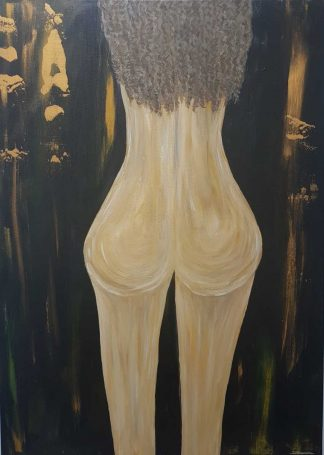 Her Body Original nude abstract painting for sale. Nude art. Browse a large selection of a variety of subjects here